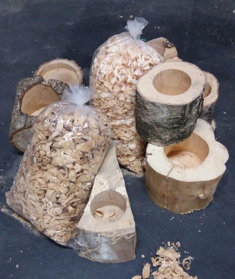 profumatori ambiente legno